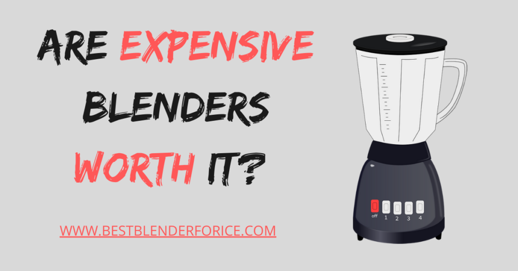 Are Expensive Blenders Worth It