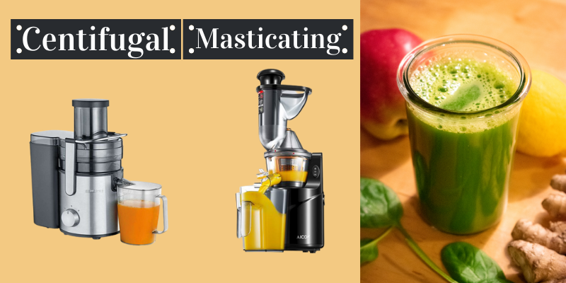 Which is Best Juicer for Nutrients Masticating or Centrifugal