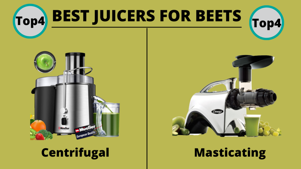 Best Juicer for Beets Centrifugal or masticating which is best